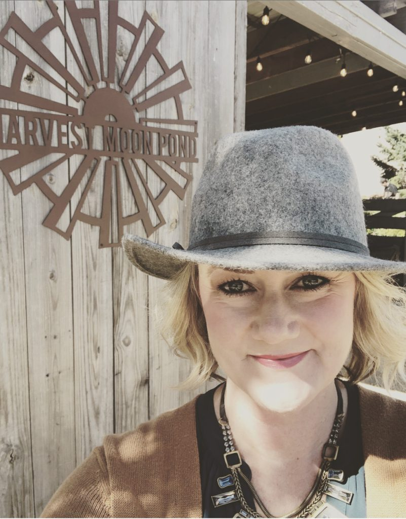 Stephanie Showers, Owner of Harvest Moon Pond